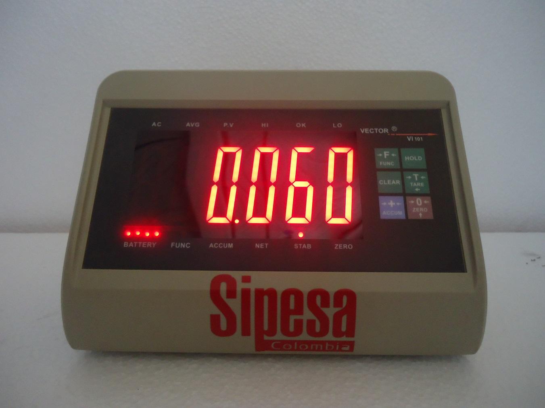 Indicador de peso Sipesa Vector  101